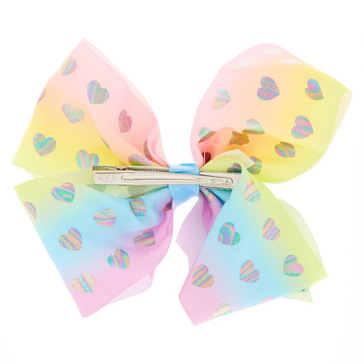 JoJo Siwa™ Large Heavenly Hearts Signature Hair Bow,