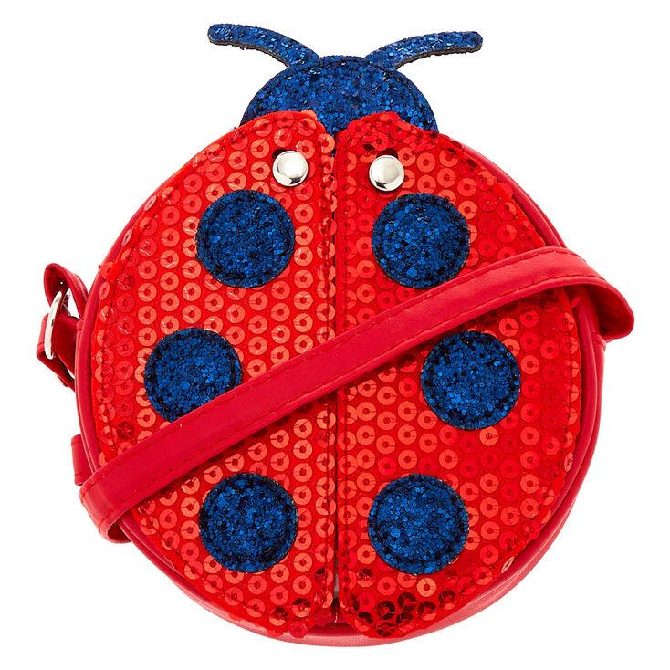 Claire S Club Ladybug Crossbody Bag Red