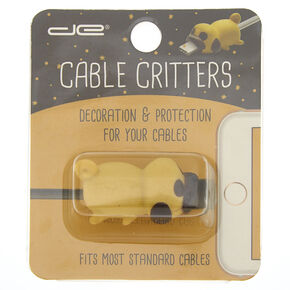 Pug Cable Critter - Brown,