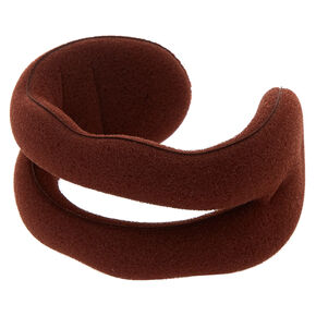 Foam Bun Hair Tool - Brown,