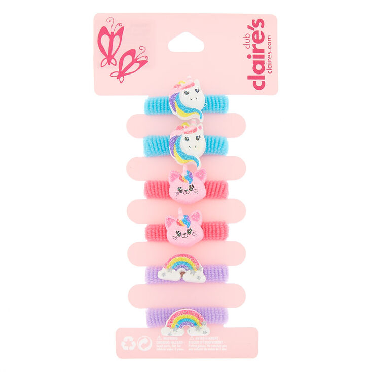 Claire's Club Glitter Hair Bobbles -  Pack,