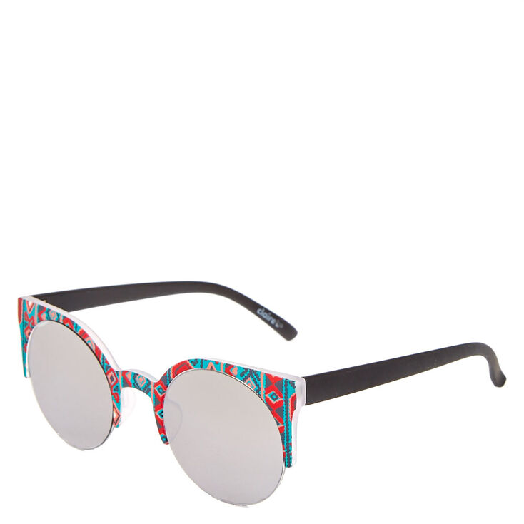 Aztec Cat Eye Sunglasses,