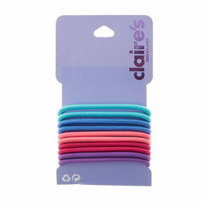 Pretty Pastel Hair Bobbles - 10 Pack,