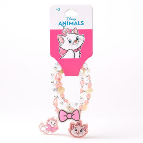 ©Disney Animals Marie Beaded Stretch Bracelets – 3 Pack,