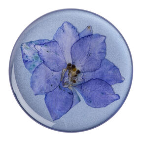 PopSockets Swappable PopGrip - Purple Pressed Flower,