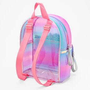 Ombre Shaker Initial Mini Backpack - I,