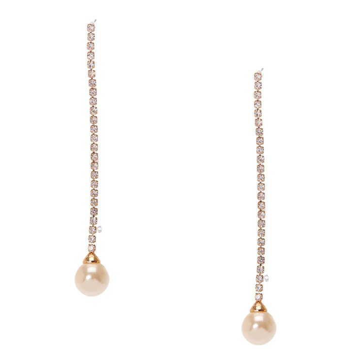 zoom pearl earrings genuine drop long il gold listing fresh water