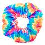 Medium Neon Tie Dye Hair Scrunchie,
