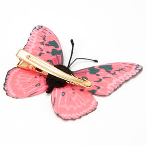Pink Butterfly Hair Clip,