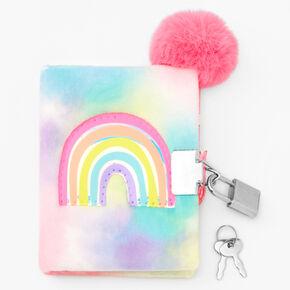 Claire's Club Pastel Rainbow Diary,