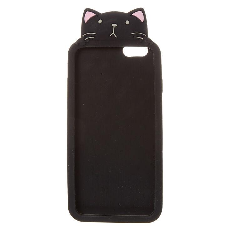 huge discount fc22c cc326 Black Peaking Cat Phone Case