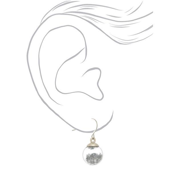 Claire's - disco star shaker drop earrings - 2