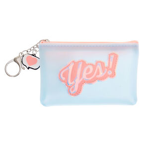 Yes! Jelly Coin Purse - Blue,