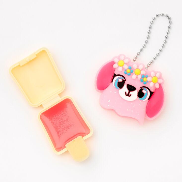 Pucker Pops® Flower Puppy Lip Gloss - Pink Guava,
