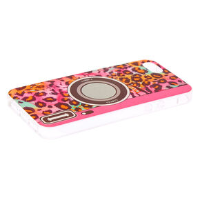 Rainbow Leopard Retro Camera Phone Case - Fits iPhone 5/5S,