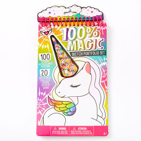 100% Magic Unicorn Shaker Sketchbook,