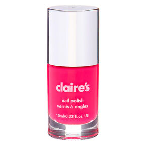 Vernis à ongles uni - Rose fluo,
