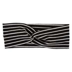 Claire/'s Girl/'s Fuzzy Stretch Headwraps Black 6 Pack