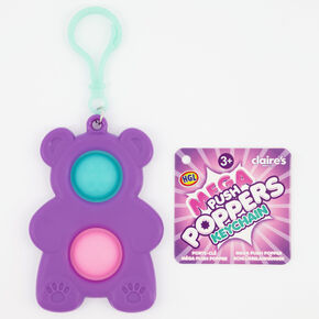 Mega Push Poppers Fidget Toy Keychain – Styles May Vary,