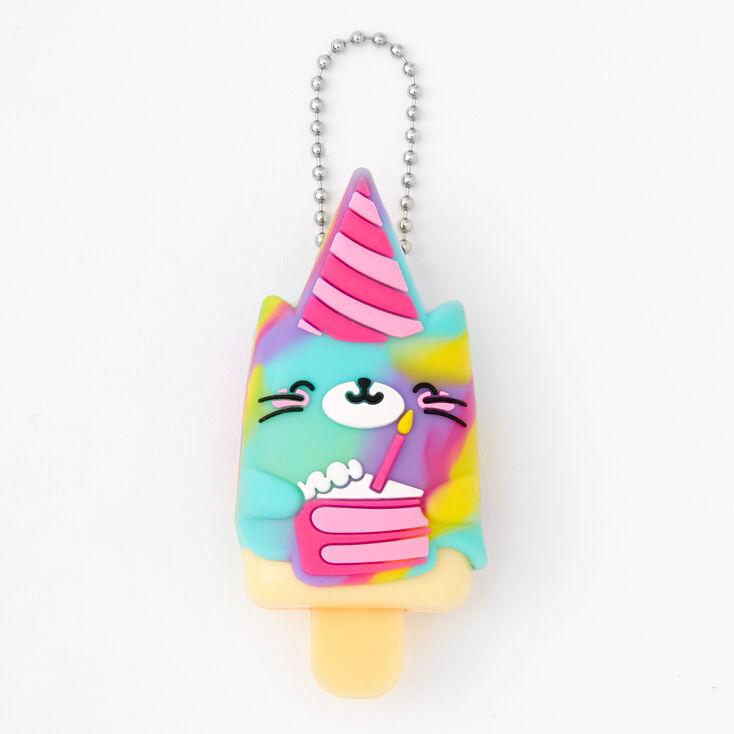Pucker Pops Birthday Cat Lip Gloss - Birthday Cake Flavor,