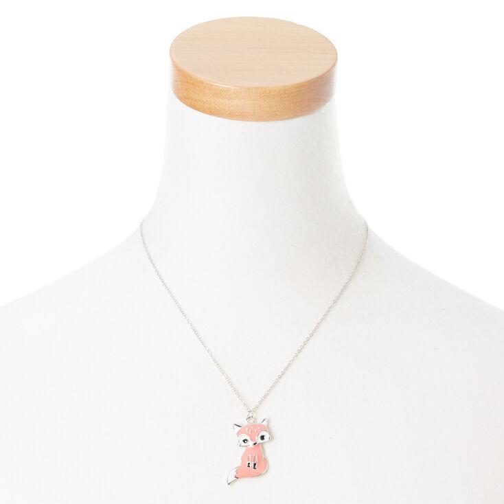 Francesca the Fox Long Pendant Necklace,