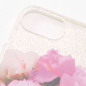 Paris Glitter Protective Phone Case - Fits iPhone 6/7/8/SE,