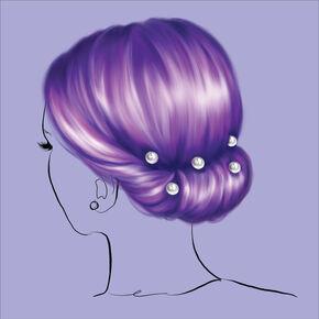 Chignon Pearl Updo Hair Tools Kit,