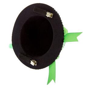 Sequin Irish Hat Fascinator - Green,