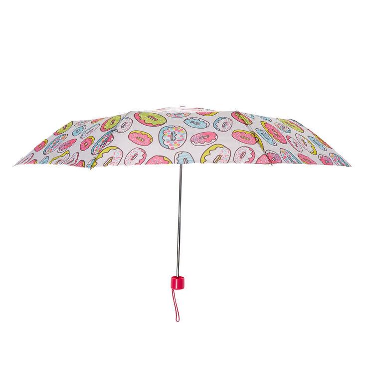 Rainbow Donut Umbrella - White,