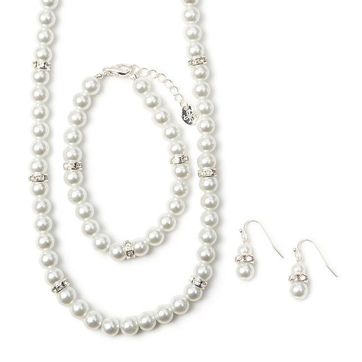523bfbd060b14 Pearl Jewelry Set - 3 Pack
