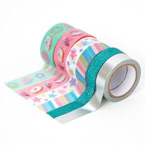 Donut Washi Tape Set - 6 Pack,