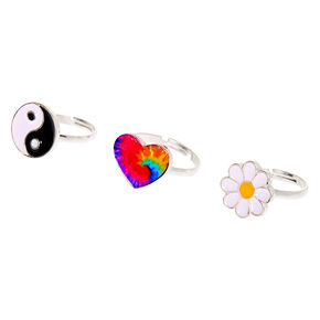 Flower Child Rings - 3 Pack,