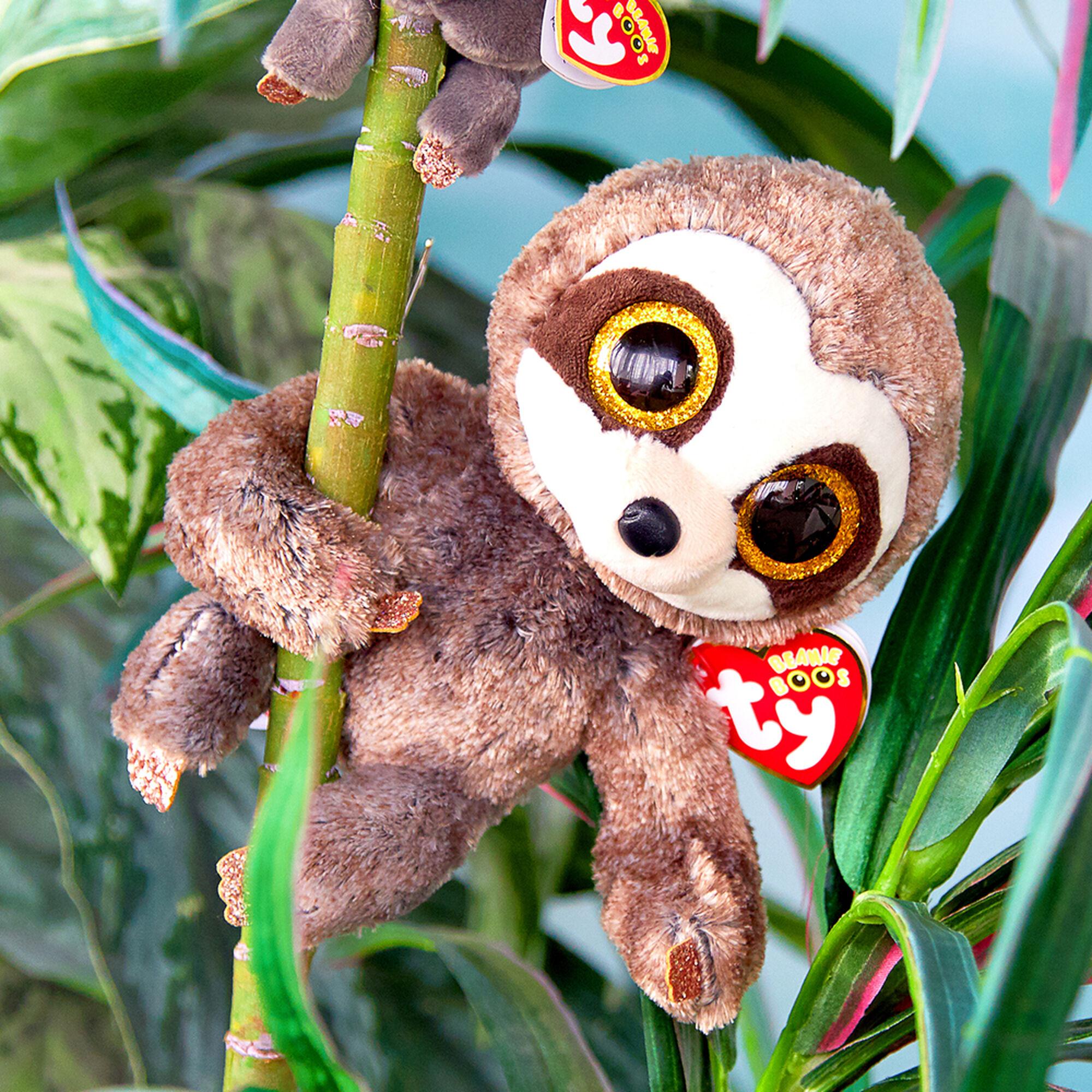 ... Ty Beanie Boo Medium Dangler the Sloth Plush Toy f0a293934e0d