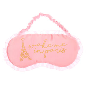 Wake Me In Paris Sleeping Mask - Pink,