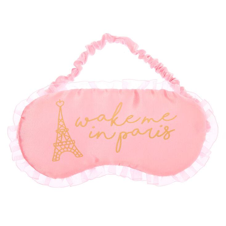 Wake Me In Paris Sleeping Mask - Pink,
