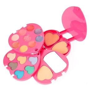 80605cf9dd0 Rainbow Bedazzled Heart Makeup Compact