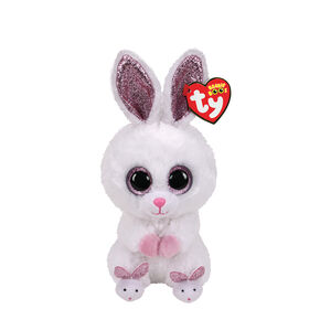 Ty® Beanie Boo Slippers the Bunny Plush Toy,