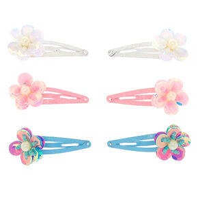 Claire's Club Snap Hair Clips - 6 Pack,