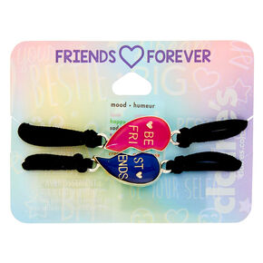Mood Heart Stretch Friendship Bracelets - 2 Pack,