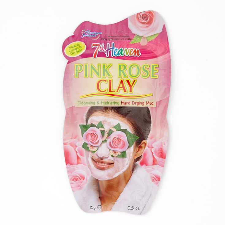 7th Heaven Pink Rose Clay Mud Mask,