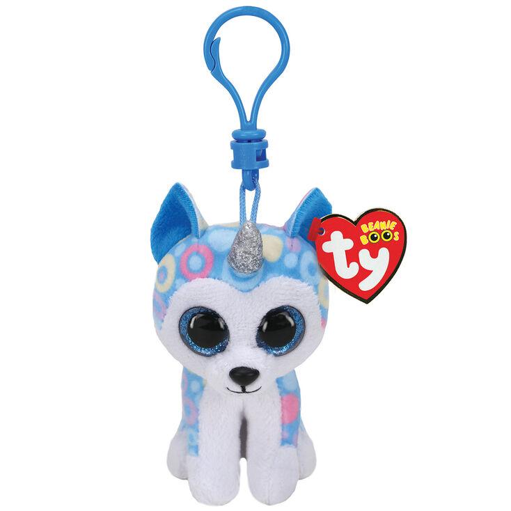 Porte-clés à clip Helena la husky Ty Beanie Boo,