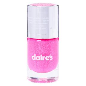 Glitter Sand Nail Polish - Neon Pink,