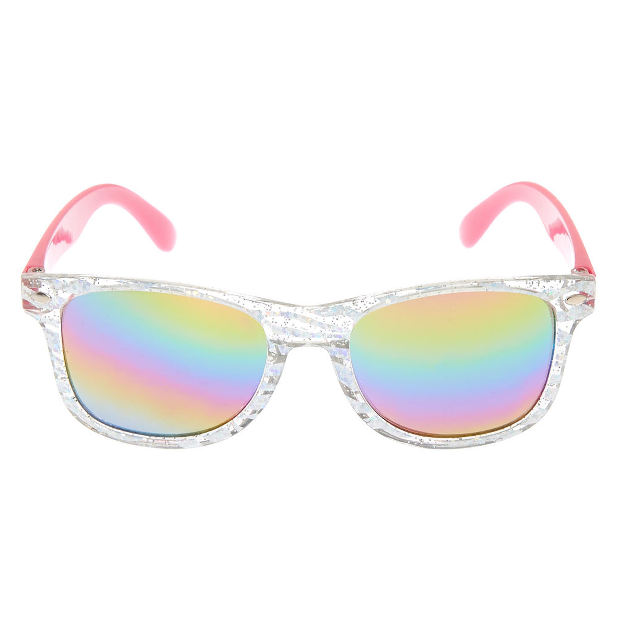 26dd287cec ... Claire  39 s Club Holographic Sunglasses