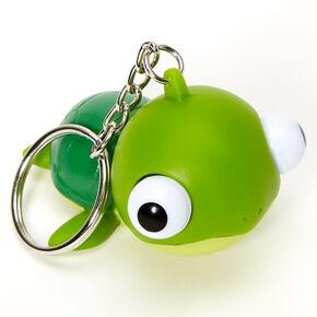 Turtle Eye Pop Keychain - Green,