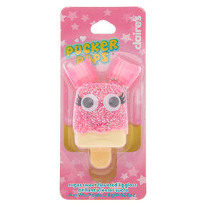 Pucker Pops Pink Glitter Pigtails Lip Gloss - Sugar Sweet,