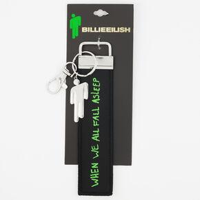 Porte-clés paroles Billie Eilish - Noir,