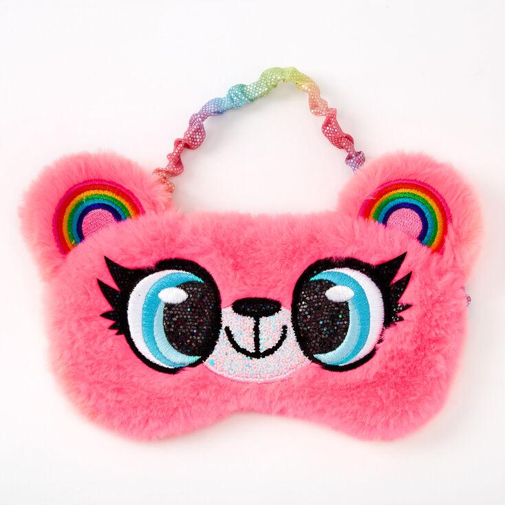 Izzy the Bear Sleeping Mask - Pink,