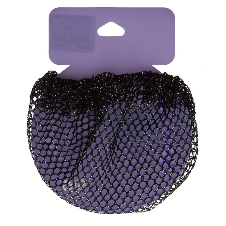 Black Lure Bun Hair Net,