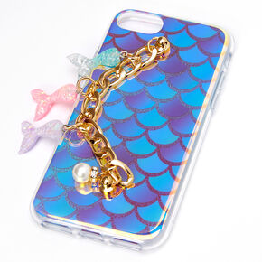 Mermaid Charm Protective Phone Case - Fits iPhone 6/7/8/SE,