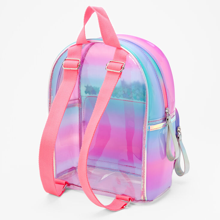 Ombre Shaker Initial Mini Backpack - H,